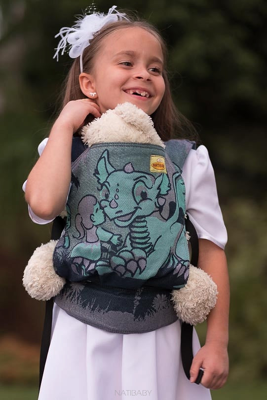 Mochila para muñecos Natibaby - Land of the Dragons