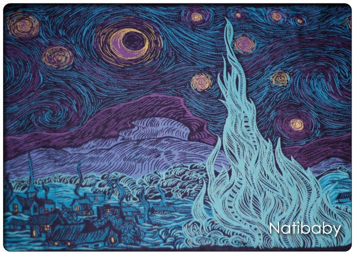 Bandolera Natibaby Starry Night Qualila (Talla L)
