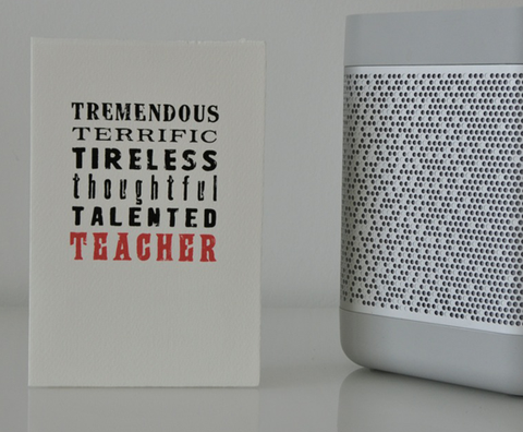 Tremendous Teacher