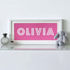 Personalised Child's Name - Bright Lights