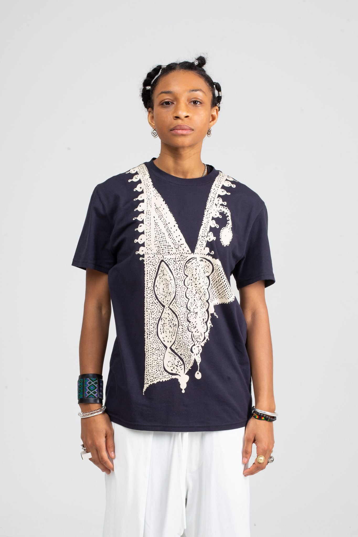 Agbada T-Shirt | Cream