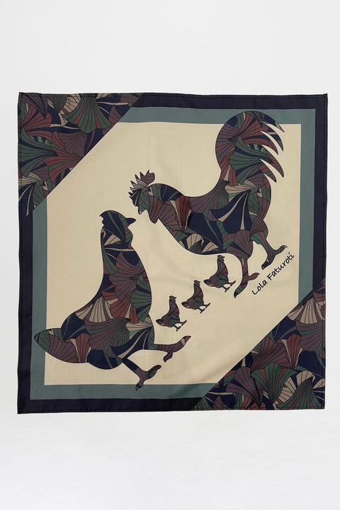 Rooster Bandana | Forest