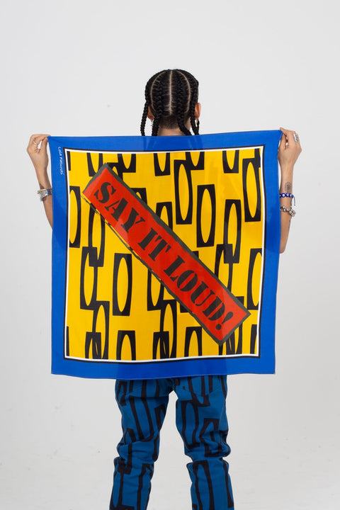 Sat It Loud! Scarf | Enitan - Ofeefee