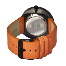 Load image into Gallery viewer, Simplify The 700 Leather-Band Unisex Watch - Orange/Black - SIM0704