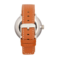Load image into Gallery viewer, Simplify The 7100 Leather-Band Watch w/Date - Brown/Silver - SIM7102