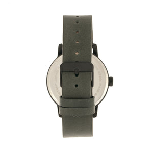 Simplify The 4200 Leather-Band Watch - Charcoal - SIM4205