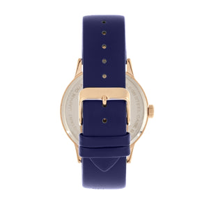 Simplify The 5700 Leather-Band Watch - Navy - SIM5705