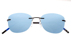 Simplify Matthias Polarized Sunglasses - Black/Blue - SSU112-BK