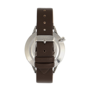 Simplify The 6700 Series Strap Watch - Brown/Silver - SIM6704