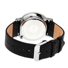 Load image into Gallery viewer, Simplify The 3100 Leather-Band Watch - Silver/Black - SIM3102