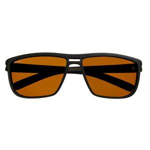 Simplify Barrett Polarized Sunglasses - Black/Brown - SSU124-BK