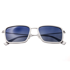 Simplify Parker Polarized Sunglasses - White/Blue - SSU103-WH