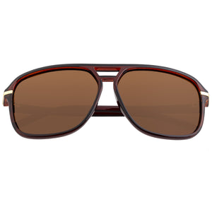 Simplify Reed Polarized Sunglasses - Brown/Brown - SSU121-BN