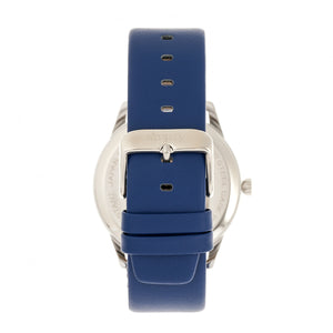 Simplify The 6300 Leather-Band Watch - Blue - SIM6304
