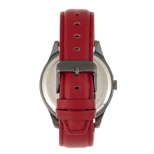 Load image into Gallery viewer, Simplify The 6600 Series Leather-Band Watch - Red/Black - SIM6604