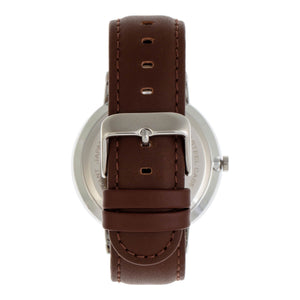 Simplify The 6500 Leather-Band Watch - Brown/Black - SIM6504