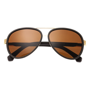 Simplify Stanford Polarized Sunglasses - Gold/Brown - SSU115-BN