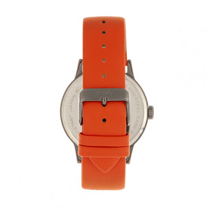 Simplify The 5700 Leather-Band Watch - Orange - SIM5706