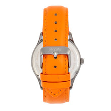 Load image into Gallery viewer, Simplify The 6900 Leather-Band Watch w/ Date - Orange - SIM6906