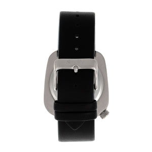 Simplify The 6800 Leather-Band Watch - Silver/Black - SIM6802