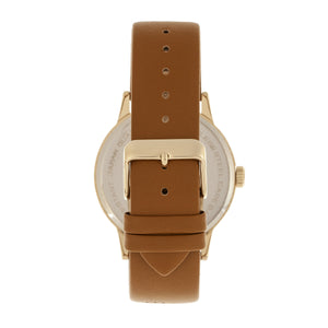Simplify The 5700 Leather-Band Watch - Brown - SIM5704