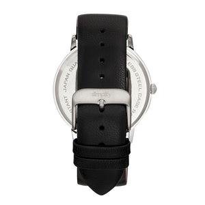 Simplify The 7200 Leather-Band Watch - Black - SIM7202