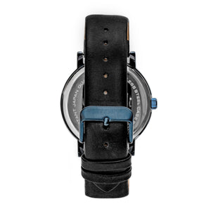 Simplify The 7000 Leather-Band Watch - Blue/Black - SIM7006