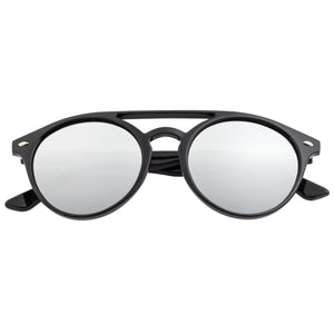 Simplify Finley Polarized Sunglasses - Black/Silver  - SSU122-SL