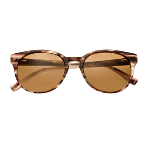 Simplify Clark Polarized Sunglasses - Brown Tortoise/Brown - SSU102-BB