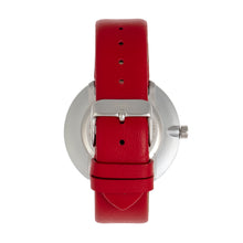 Load image into Gallery viewer, Simplify The 4000 Leather-Band Watch - Red - SIM4003