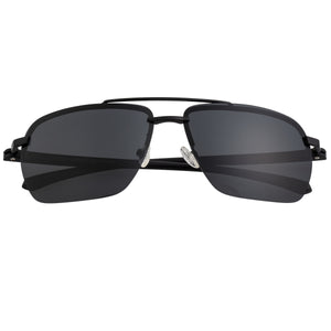 Simplify Lennox Polarized Sunglasses - Black/Black - SSU119-BK