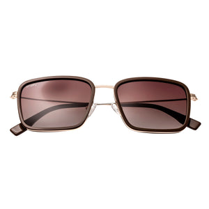 Simplify Parker Polarized Sunglasses - Dark Brown-Gold/Brown - SSU103-TR