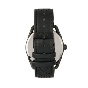 Simplify The 5900 Leather-Band Watch - Black - SIM5906