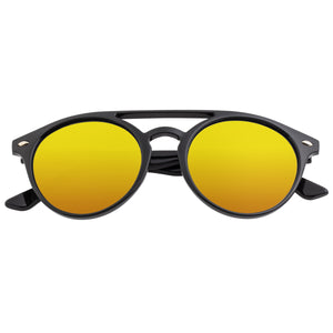 Simplify Finley Polarized Sunglasses - Black/Red-Yellow  - SSU122-RD