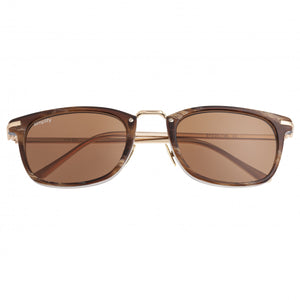 Simplify Theyer Polarized Sunglasses - Brown/Brown - SSU118-BN