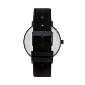 Simplify The 2900 Leather-Band Watch - Black - SIM2904