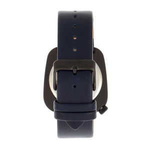 Simplify The 6800 Leather-Band Watch - Black/Navy - SIM6806