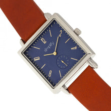 Load image into Gallery viewer, Simplify The 5000 Leather-Band Watch - Brown/Blue - SIM5004