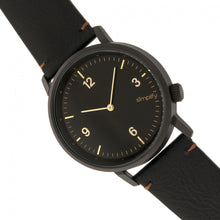 Load image into Gallery viewer, Simplify The 5500 Leather-Band Watch - Black - SIM5502