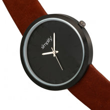 Load image into Gallery viewer, Simplify The 6000 Strap Watch - Black/Dark Brown - SIM6006