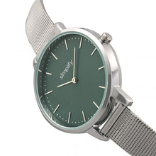 Load image into Gallery viewer, Simplify The 5800 Mesh Bracelet Watch - Silver/Teal - SIM5802