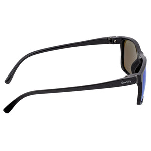 Simplify Ellis Polarized Sunglasses - Black/Blue - SSU123-BL