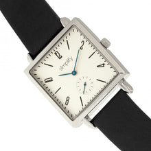 Load image into Gallery viewer, Simplify The 5000 Leather-Band Watch - Black/White - SIM5001