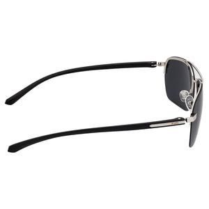Simplify Lennox Polarized Sunglasses - Silver/Black - SSU119-SL