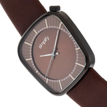 Load image into Gallery viewer, Simplify The 6800 Leather-Band Watch - Black/Brown - SIM6805