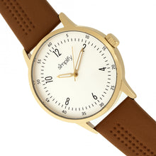 Load image into Gallery viewer, Simplify The 5700 Leather-Band Watch - Brown - SIM5704