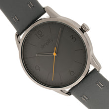 Load image into Gallery viewer, Simplify The 6300 Leather-Band Watch - Charcoal - SIM6306