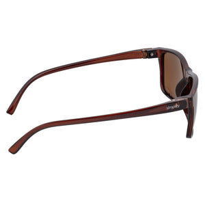Simplify Ellis Polarized Sunglasses - Brown/Brown - SSU123-BN