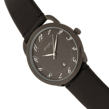 Load image into Gallery viewer, Simplify The 4900 Leather-Band Watch w/Date - Black - SIM4906