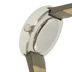Simplify The 2700 Leather-Band Watch - Gray - SIM2703
